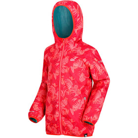 Regatta Printed Lever Jacket Children red